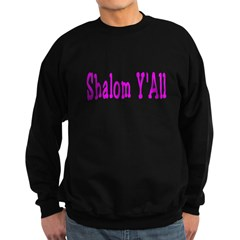 Shalom Y'all Sweatshirt (dark)