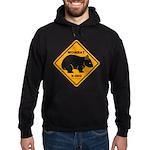 Wombat Xing Hoodie (dark)