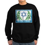 Jewish Welcome Star of David Sweatshirt