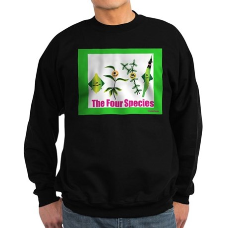 The Four Species Sukkot Sweatshirt (dark)