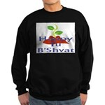 Happy Tu B'Shvat Sweatshirt (dark)