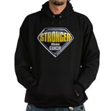 Stronger than cancer Hoodie