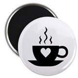 Love Coffee Magnet