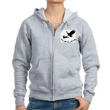 Art of Falconry - Red Tail Zipped Hoodie