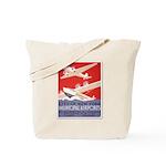 """""""New York Municipal Airports"""" Tote Bag"""
