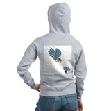 Falcon with goggles Zipped Hoodie