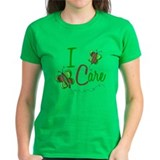 I Care 1 Butterfly GREEN Tee