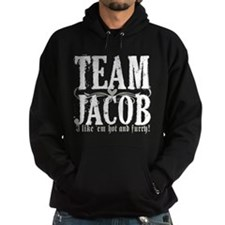 Team Jacob 3 Hoodie (dark)