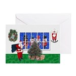 Masonic Christmas Greeting Card