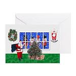 Masonic Christmas Greeting Card