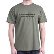 Psych-Finding Marbles T-Shirt