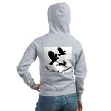 Art of Falconry - HH Back Zip Hoodie