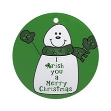 Irish You a Merry Christmas Ornament