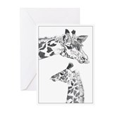 Giraffes Greeting Cards (Pk of 20)