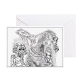 Monkeys Greeting Cards (Pk of 10)