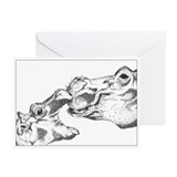 Hippos Greeting Cards (Pk of 20)
