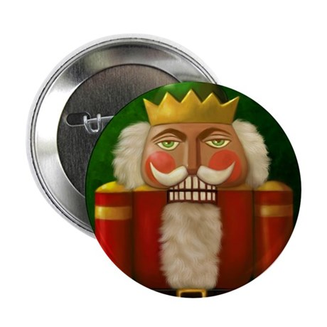 Christmas Nutracker Button