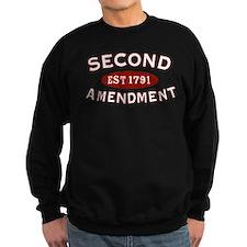 Second Amendment 1791 Sweatshirt