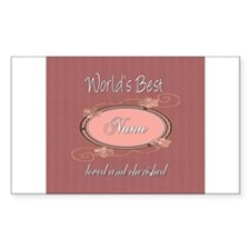 Cherished Nana Rectangle Sticker 10 pk)