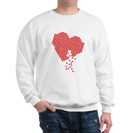Digital Hearts Sweatshirt