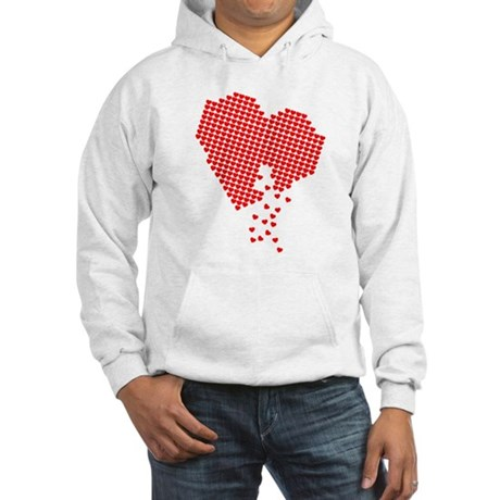 Digital Hearts Hooded Sweatshirt