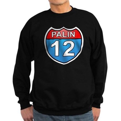 Sarah Palin '12 Sweatshirt (dark)