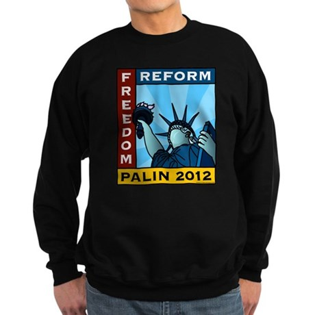 Palin 2012 Liberty Sweatshirt (dark)