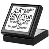 Ask Not Director Keepsake Box