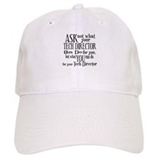 Ask Not Tech Director Baseball Cap