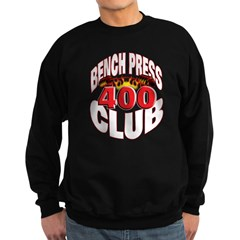 BENCH PRESS 400 CLUB Sweatshirt (dark)