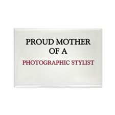 Proud Mother Of A PHOTOGRAPHIC STYLIST Rectangle M