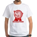 Redcloak: REVOLUTION! White T-Shirt