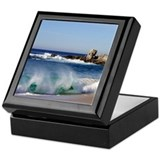 Carmel River State Beach Keepsake Box