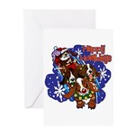 Santa Paws Greeting Cards (Pk of 20)