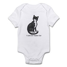 Love My Tuxedo Cat Infant Bodysuit