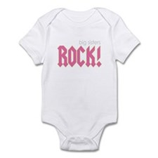 Big Sisters Rock Infant Bodysuit