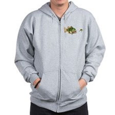 Fish and Lure Zip Hoodie