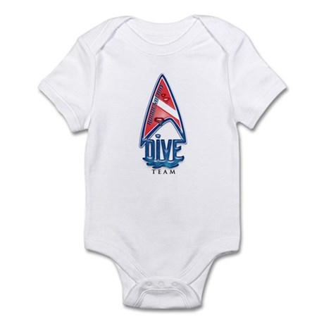 Roddenberry Dive Team Infant Bodysuit