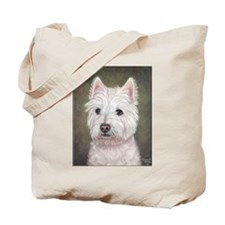 Westie (head study) Tote Bag