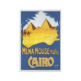 Cairo Egypt Rectangle Magnet