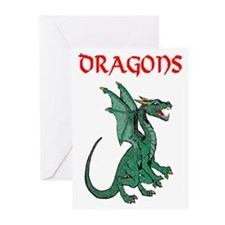 Dragon Cave Greeting Cards (Pk of 20)