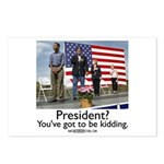 You've got to be kidding. Postcards (Package of 8)