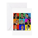 Obama Collage Greeting Cards (Pk of 20)