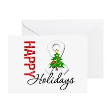 Pearl Ribbon Christmas Greeting Cards (Pk of 20)