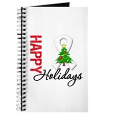 Pearl Ribbon Christmas Journal