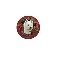 Warm Westie Wishes Mini Button (10 pack)