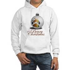 "Bear Ornament ""Beary Christmas"" Hoodie"