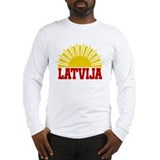 Latvia Long Sleeve T-Shirt