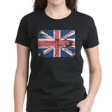 Worn and Vintage British Flag Tee-Shirt