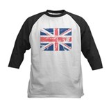 Worn and Vintage British Flag Tee